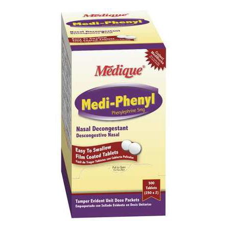 MEDI PHENYL Sinus and Allergy,Tablet,PK500 20513