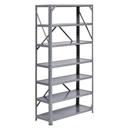 "Muscle Rack 30""W x 12""D x 60""H Steel 7-Shelf Shelving Unit"