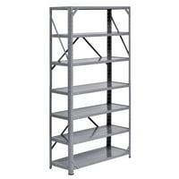 """Muscle Rack 30""""W x 12""""D x 60""""H Steel 7-Shelf Shelving Unit"""