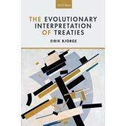 The Evolutionary Interpretation of Treaties - eBook