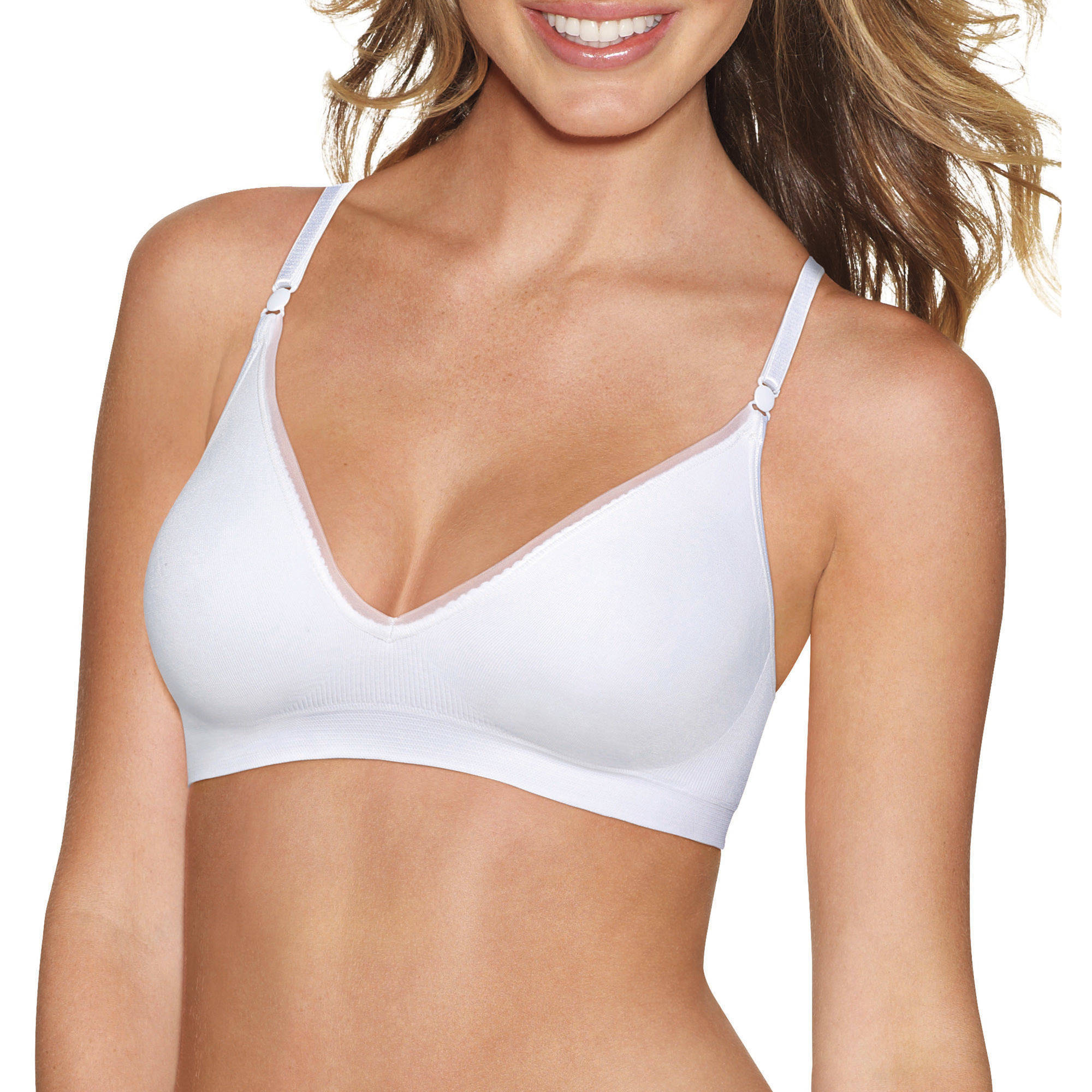 Women's Seamless Comfy Support Wire Free Bra, Style G795