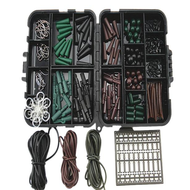Hight Quality Assorted Carp Fishing Accessories Tackle Boxes For Hair Rig Combo Box Stoppers by