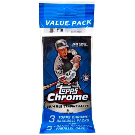 Mlb 2014 Topps Chrome Baseball Cards Value Pack