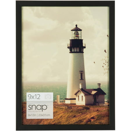 Snap 9x12 Black Photo Frame - Walmart.com