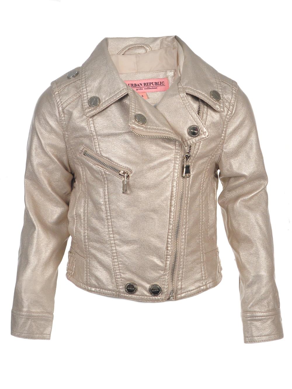 Urban Republic Baby Girls' Moto Jacket