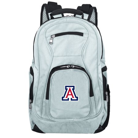 - NCAA Arizona Wildcats Gray Premium Laptop Backpack