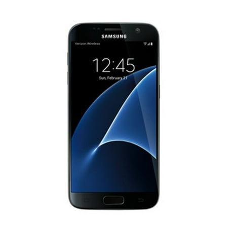 Refurbished Samsung SMG930VZKA Galaxy S7 LTE Verizon Wireless Black 32GB Cell Phone ()