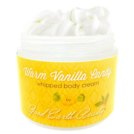 (Body Cream Warm Vanilla Candy Natural By Good Earth Beauty)