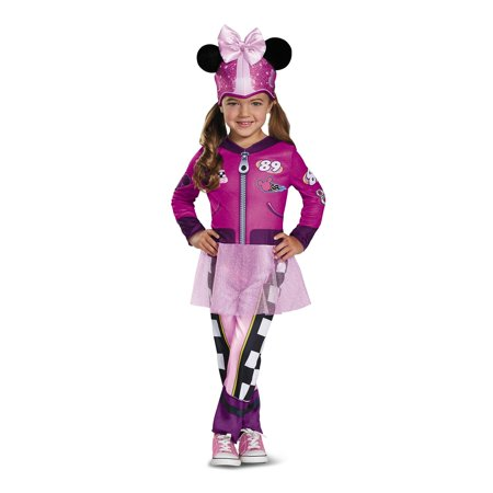 Minnie Roadster Classic Toddler Costume](Minnie Mouse Toddler Costume 3t)