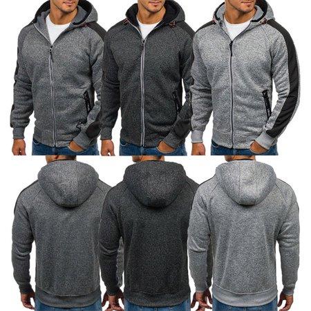 Mens hoodies sweatshirt sweat coat men casual Sportswear male hooded Tracksuit Sweaters