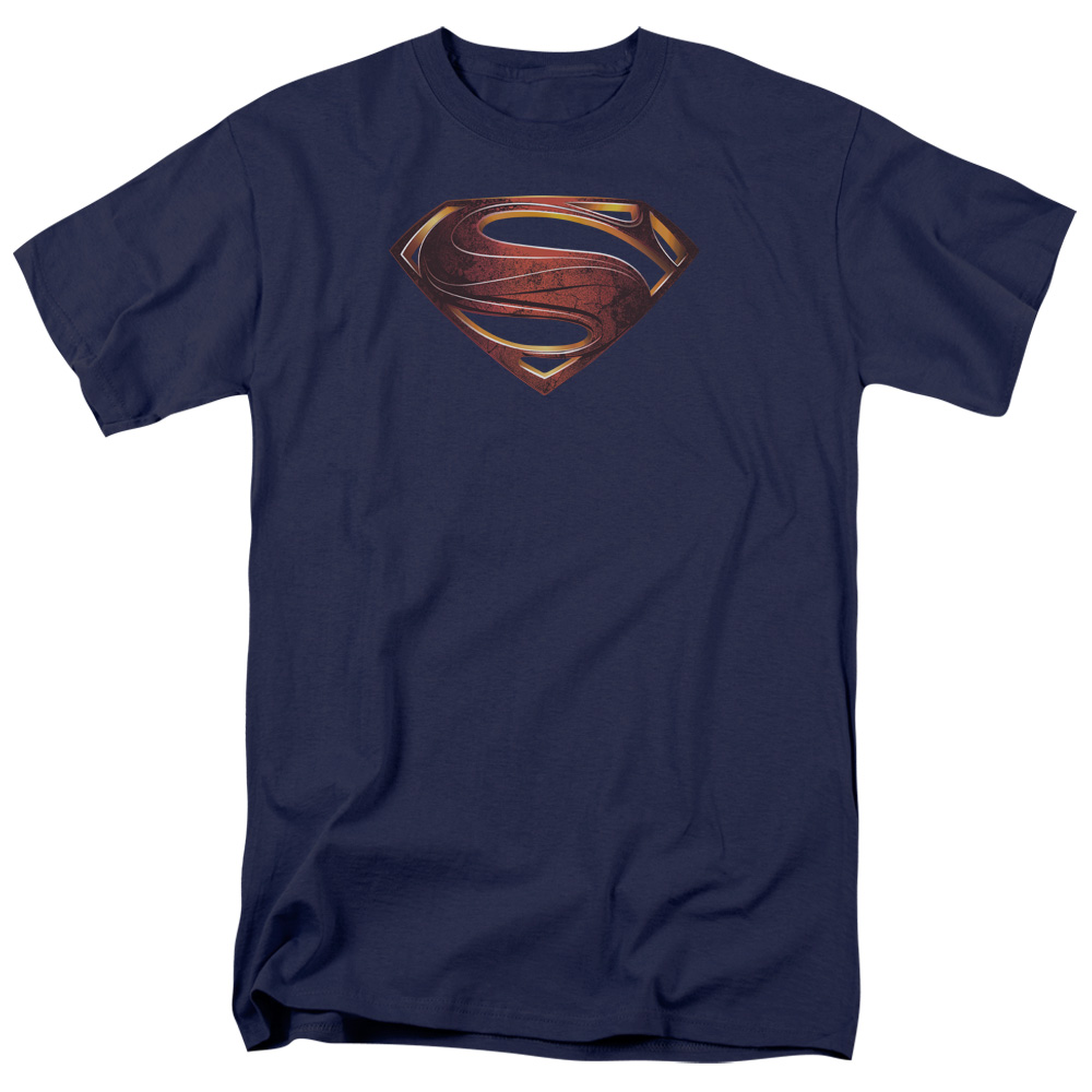 Man of Steel Superman Mos New Logo Mens Short Sleeve Shirt