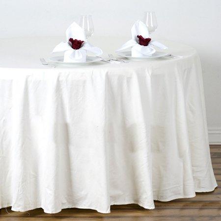 Round Cotton Tablecloths (Efavormart 108