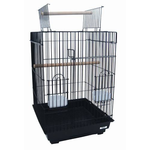 YML Open Top Small Parrot  Bird Cage