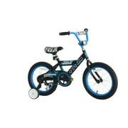 TITAN Champion 16-Inch Boys BMX Bicycle with Training Wheels, Black