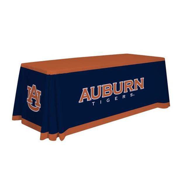 Victory Corps 810026AUB-001 6 ft. Auburn Tigers NCAA Dye Sublimated Table Throw - No.001