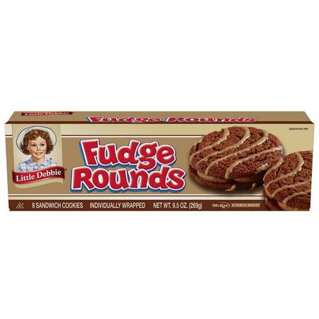 Little Debbie Snacks Fudge Rounds, 8ct