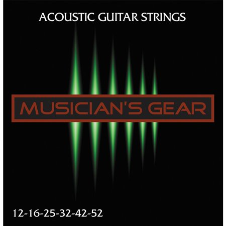 Musician's Gear Acoustic 12 80/20 Bronze Acoustic Guitar (Best Strings For Rickenbacker 12 String)