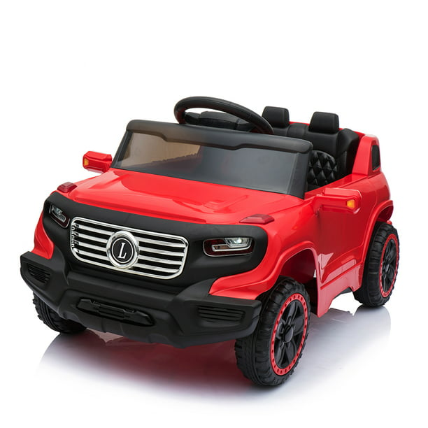 Kids Electric Car Child S Toy Electric Cars With 2 Seater 2 Seater Kids Ride On Car W Remote Control Red Walmart Com Walmart Com