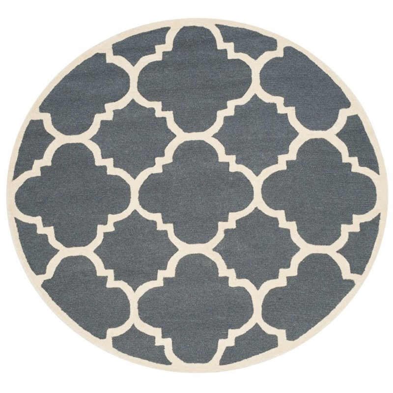 Safavieh Cambridge 9' X 12' Hand Tufted Wool Rug - image 7 of 10
