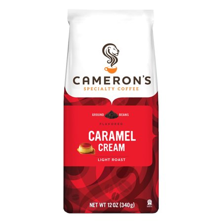 Cameron's Specialty Coffee Caramel Cream Ground, 12 oz