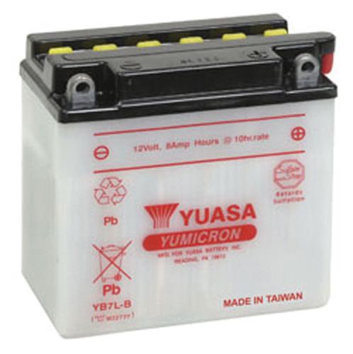YUASA YB7L-B YUMICRON-12 VOLT BATTERY