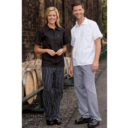 Houndstooth Cargo - 4100-4004 Uncommon Cargo Chef Pant in Houndstooth - Large