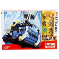 Fortnite Battle Royale Collection Battle Bus Playset [10 Figure Deluxe Edition]
