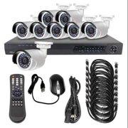 LTS LTN0882K-8B CCTV Kit,All In One,12VDC,1 TB