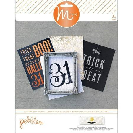 Halloween Scrapbook Embellishments (Minc Halloween Gallery Prints 8 Inch X 10 Inch)