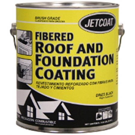 Part 62705 Fiber Roof & Foundation Ctg  5Gal, by Jetcoat, Single Item, Great Val