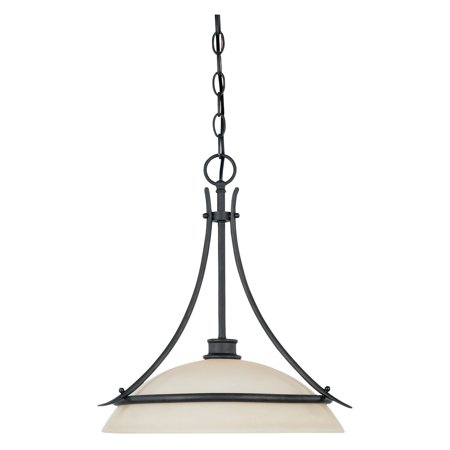 - Designers Fountain 96932 Montego Down Pendant in oil-rubbed bronze finish