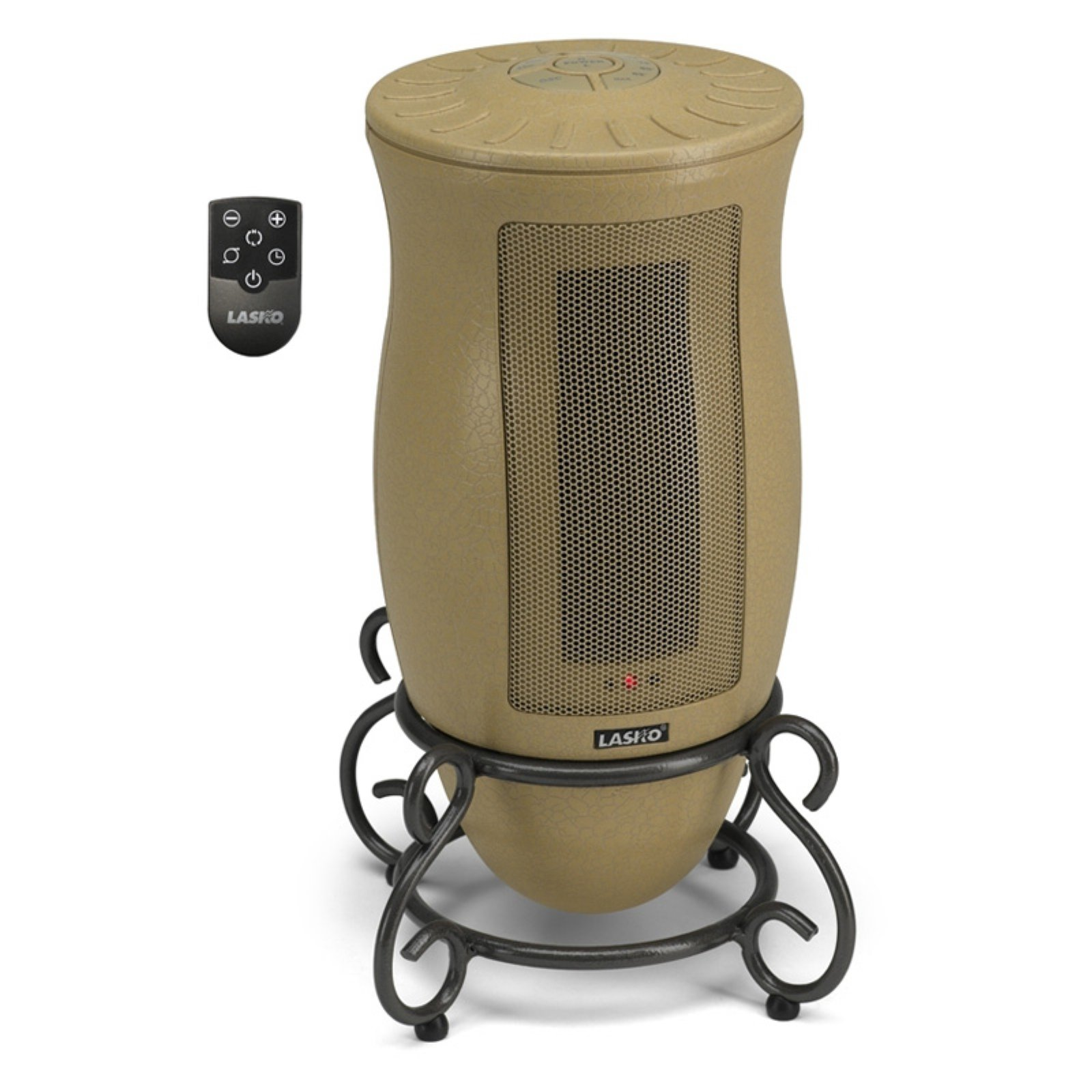 Lasko Designer Series Oscillating Ceramic Heater with Remote Control by Lasko