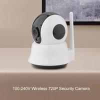 YLSHRF 100-240V Wireless 720P Security Camera Network CCTV Night Vision WiFi Webcam, WiFi Webcam, Wireless Security Camera