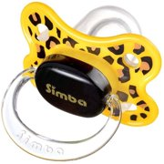 Simba P18021 Leopard Spot Pacifier, 6 Months and Up