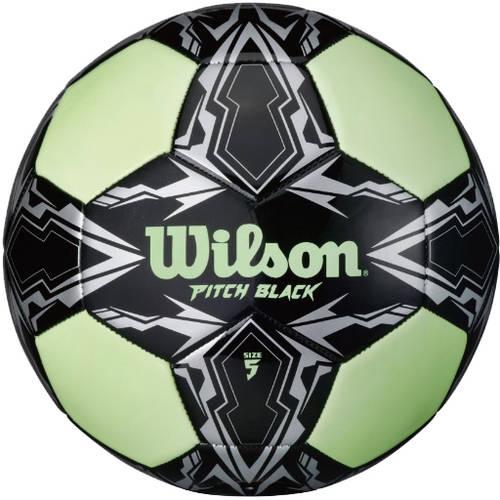 Wilson Pitch Black Glow in the Dark Soccer Ball, Size 5