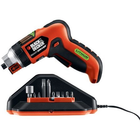 Black & Decker BDKLI4000M 3.6-Volt SmartSelect Screwdriver w/ Magnetic Screw Holder Black and Decker LI4000 3.6-Volt Lithium-Ion SmartSelect Screwdriver with Magnetic Screw Holder
