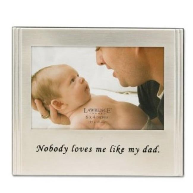 Dad 4 x 6 Black Picture Frame