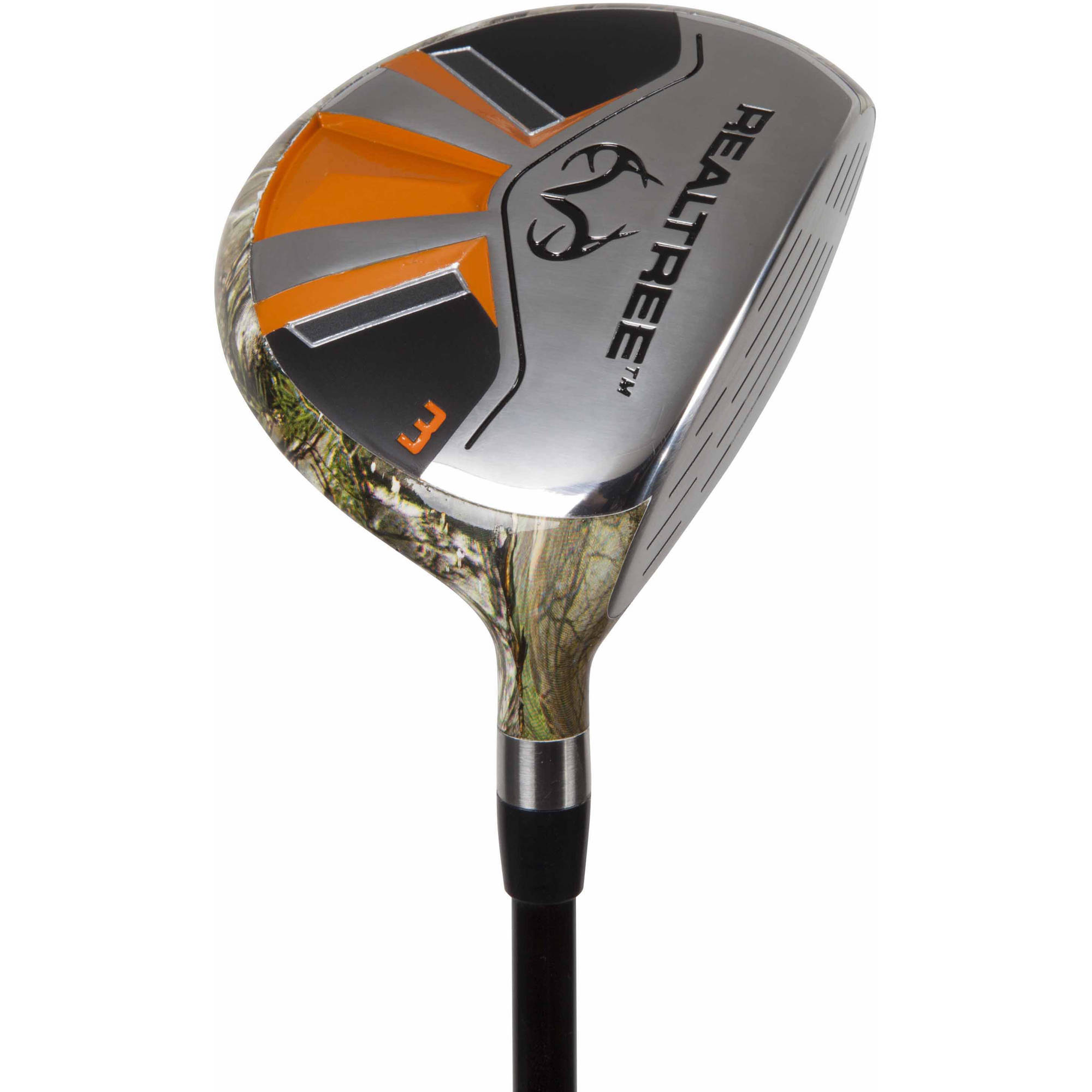 Realtree Xtra Men's 3 Wood, Right Hand, Graphite