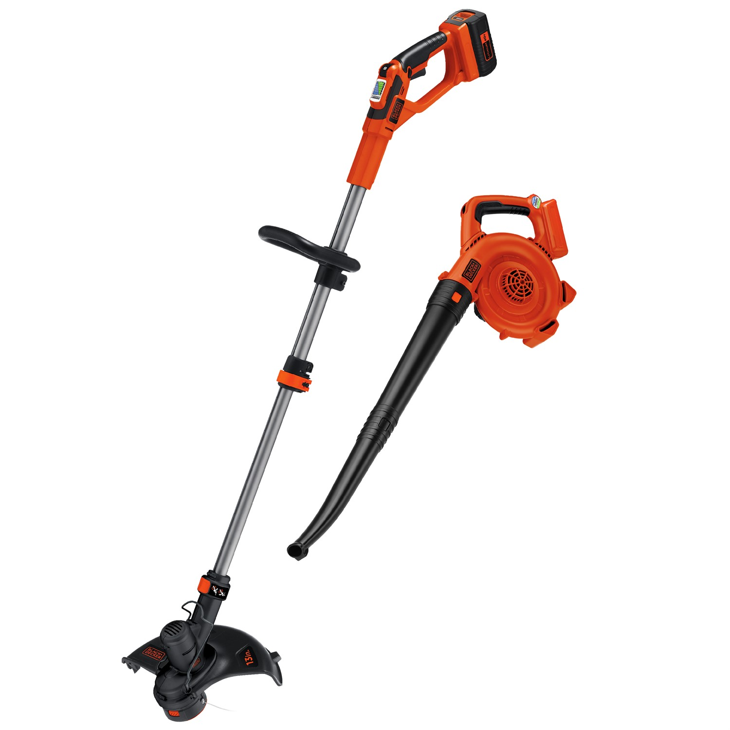 Black & Decker LCC140 40V MAX* Lithium-Ion Cordless String Trimmer & Sweeper Combo Kit by Stanley Black & Decker