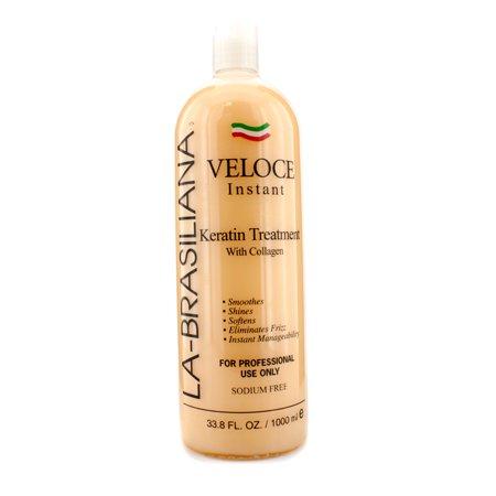 La Brasiliana Veloce Instant Keratin Treatment With Collagen