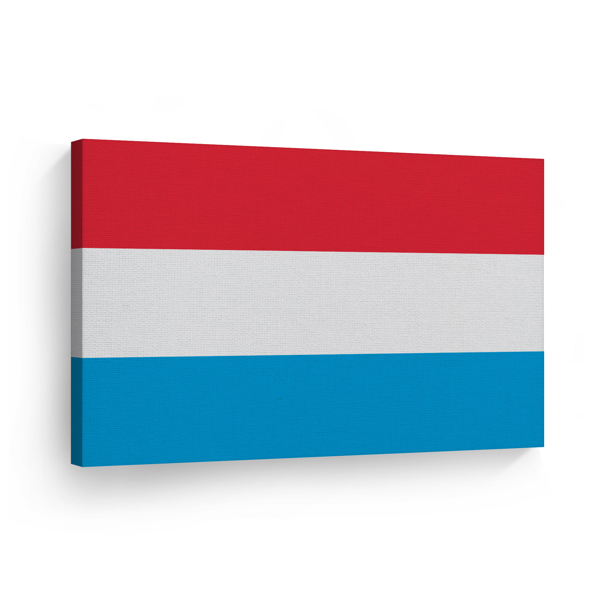 """Luxembourg New Small Table Flag 9/"""" x 6/"""" with Wooden Stand"""