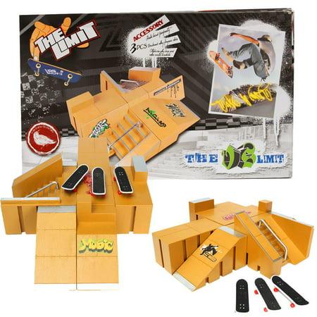 For Tech Deck Fingerboard Finger Board Skate Parks Ramp Parts 92A Kids Children Christmas Birthday Gift - image 6 de 7