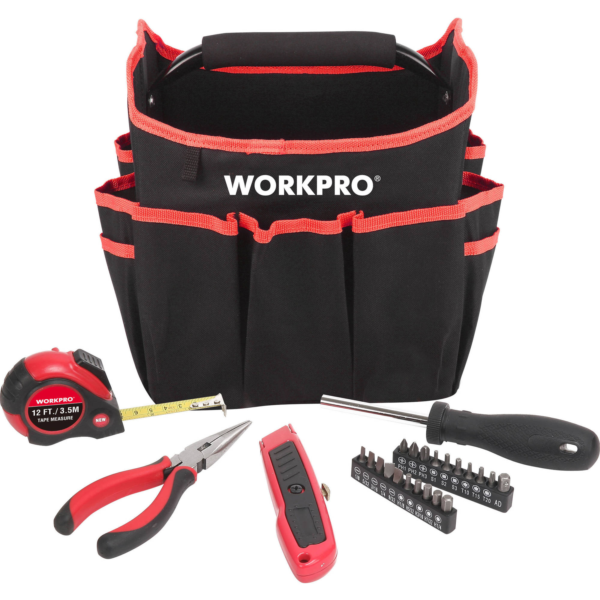 Work Pro 25-Piece Tool Set