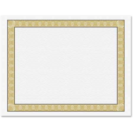 Geographics, GEO21015, Diplomat Printable Certificates, 50 / Pack, Gold (Keepsake Certificate)