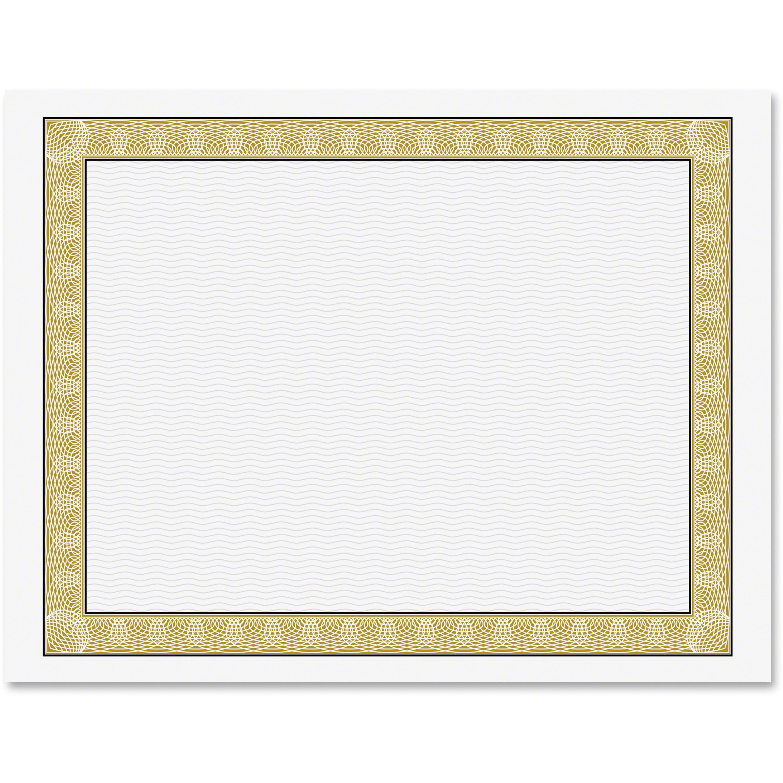 Geographics, GEO21015, Diplomat Printable Certificates, 50 / Pack, Gold