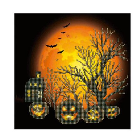 KABOER 1 Pcs Pumpkin Halloween Diamond Painting Embroidery Cross Stitch Art Home Wall Decor Halloween