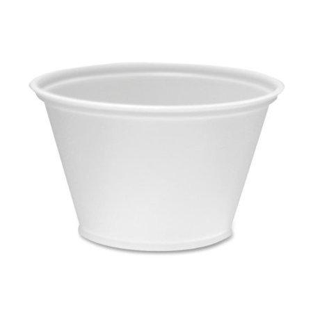 Dixie 4 Oz Souffle Cups, 2400 count - Souffle Cups
