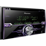 Pioneer FH-X721BT Double-DIN Single CD Receiver with Built-in Bluetooth