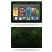 """Skin Decal Wrap for Amazon Kindle Fire HD 7"""" Tablet (2013) Black Butterfly"""
