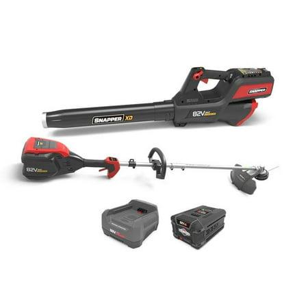 Snapper XD 82V Battery Leaf Blower & String Trimmer Clean Up Bundle | 1687885